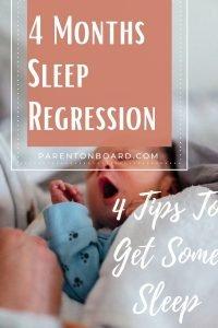 4 Months Sleep Regression Pin