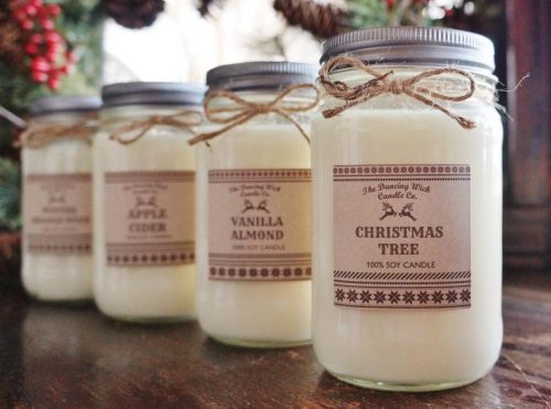 Holiday Candles for Mom