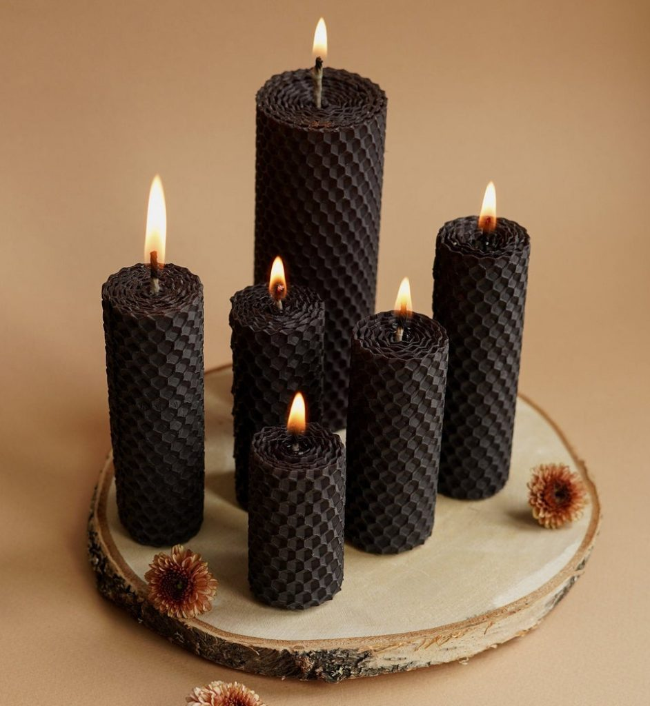 Pillar Candles for Valentines Day