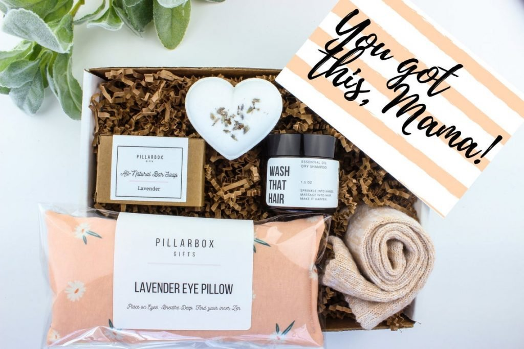 Relaxing Self-Care Box for Mom