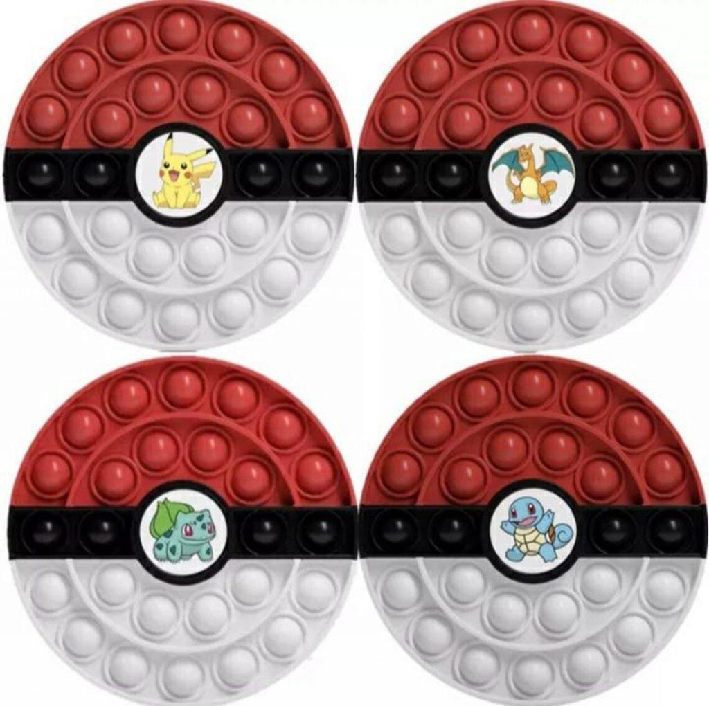 Fidget Pop Pokemon Themed