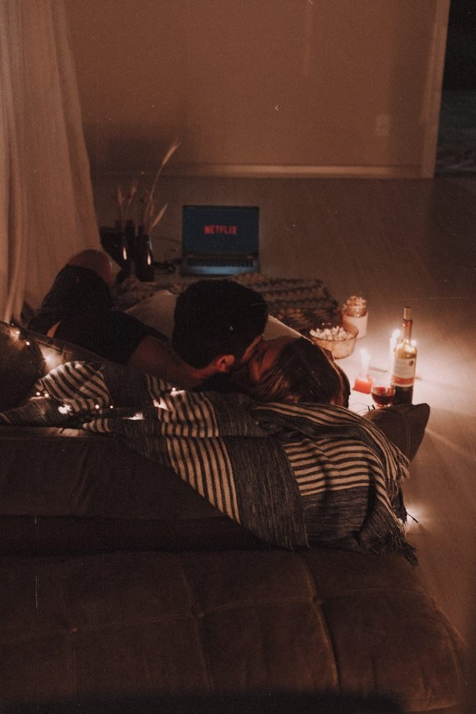 Fall Self-Care Ideas Cuddling Under Blanket