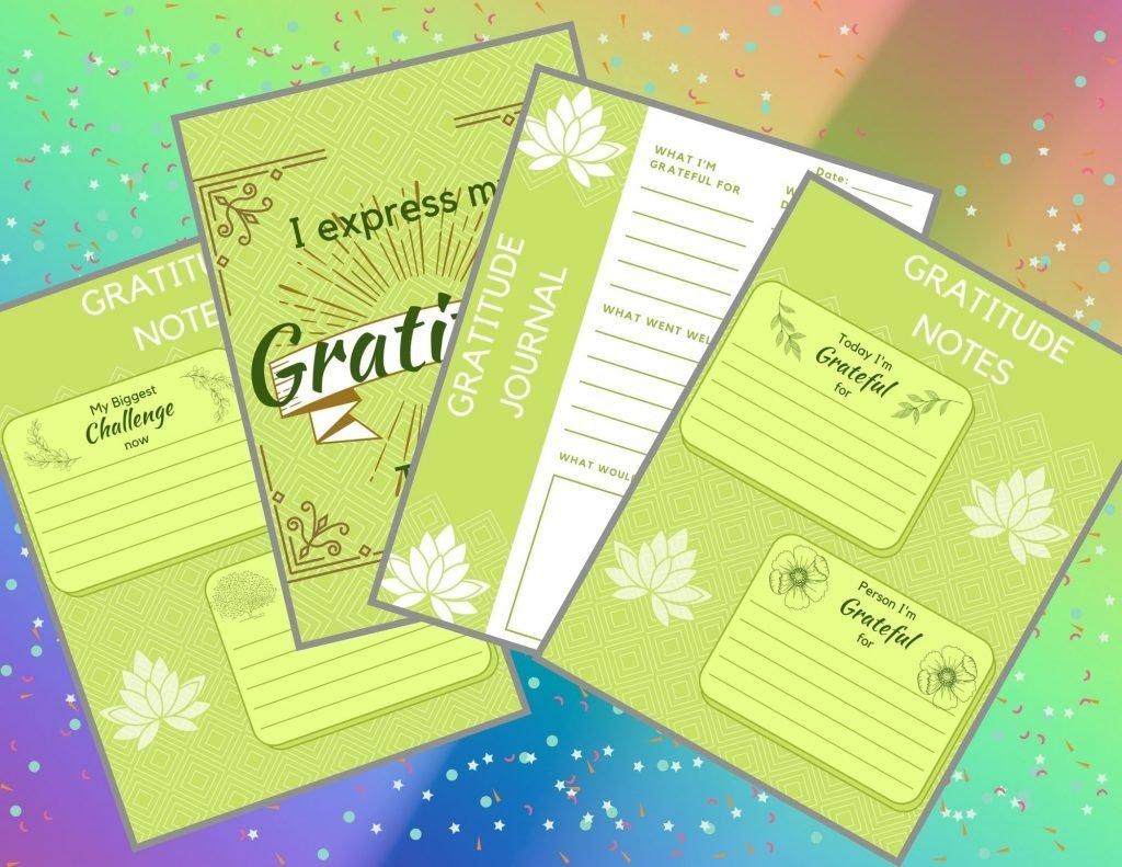 Gratitude Practice Free Printable