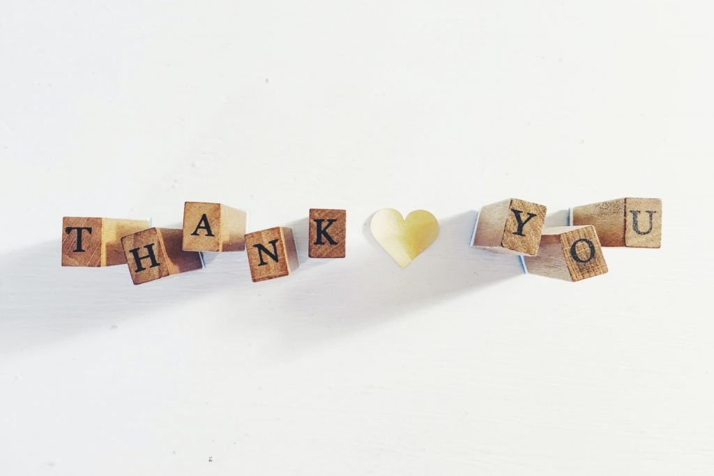 Gratitude Practice - Say Thank You