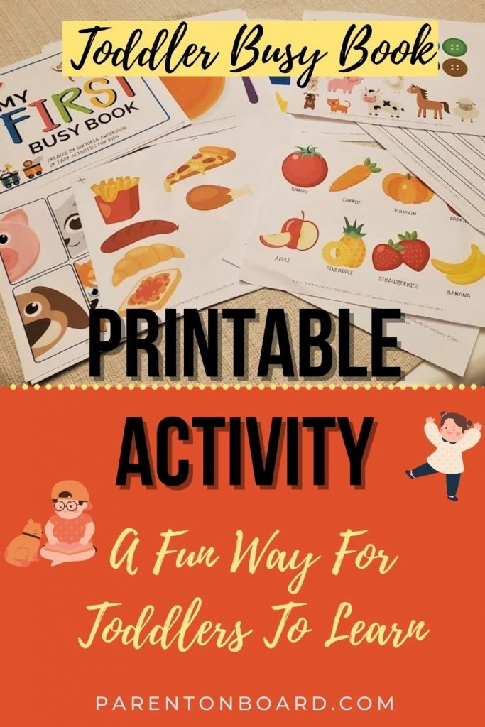 Printable Activity for Toddlers