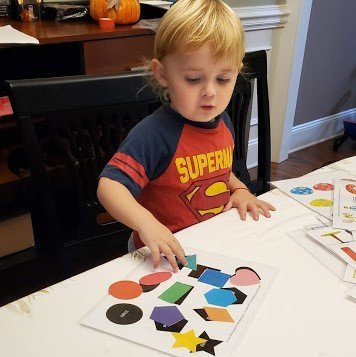 Toddler Busy Book Printable Activity