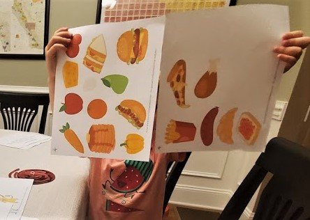 Printable Food for Toddlers