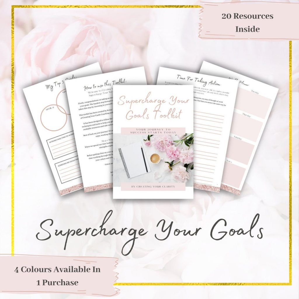 Supercharge Your Goals Planner