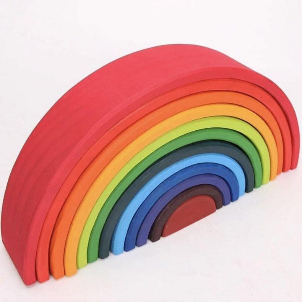 Rainbow Stacker Open Ended Toy