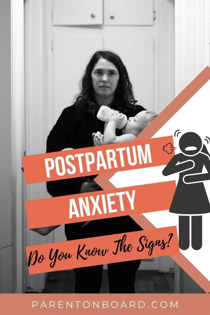 Signs of Postpartum Anxiety (PPA)