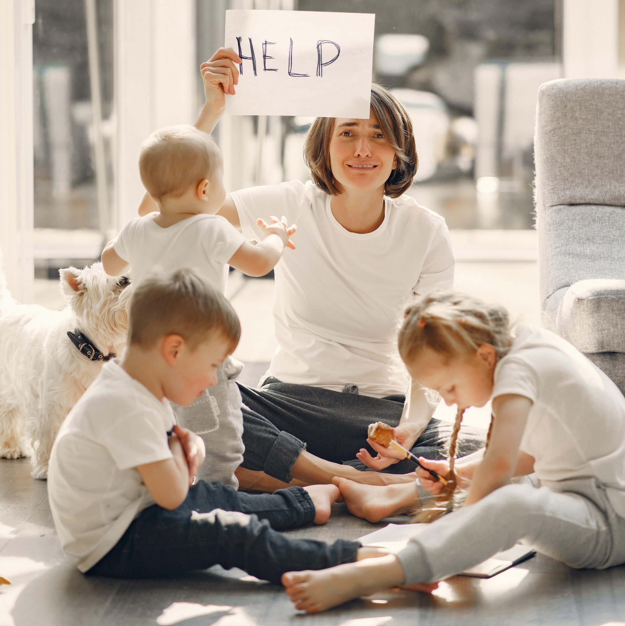 Getting Help To Alleviate Mom Burnout