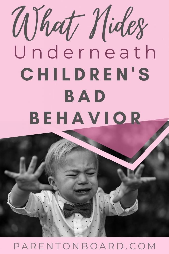 How To Change Our View Of Children's Negative Behavior